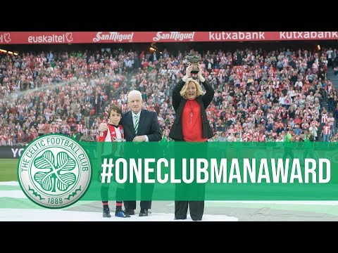 Athletic Club de Bilbao honour Billy McNeill with #OneClubManAward