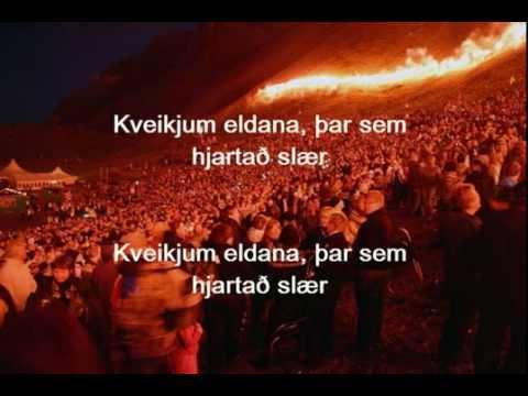 Þar sem hjartað slær - Fjallabræður - Þjóðhátíð 2012 - Texti
