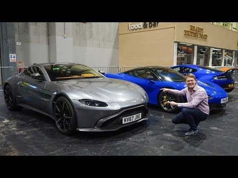 First Ride in the New Aston Martin Vantage! | VLOG