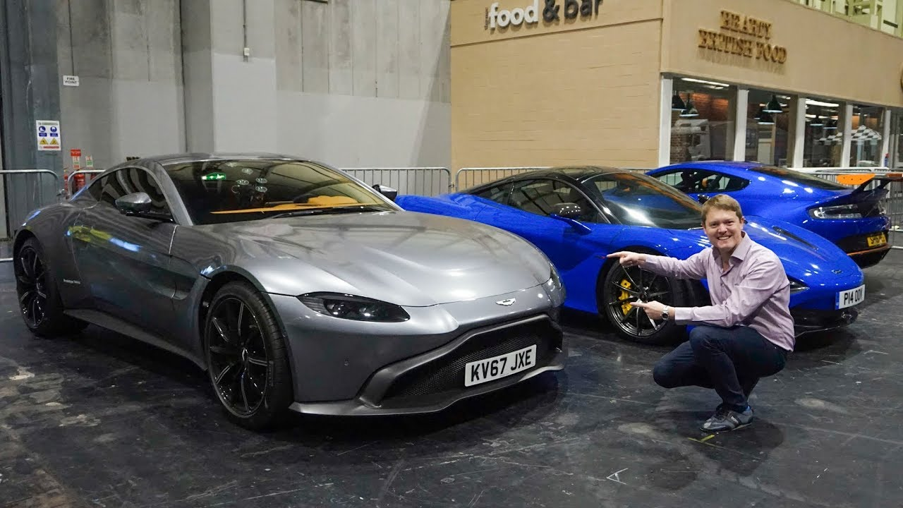 First Ride in the New Aston Martin Vantage!   VLOG