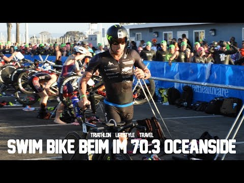 swim & bike beim Ironman 70.3 Oceanside
