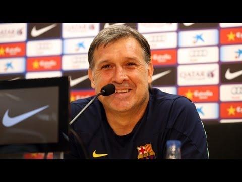 FC Barcelona -- Rueda de prensa de Gerardo Martino, íntegra