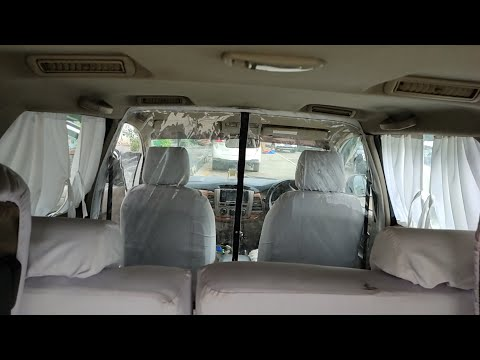 Toyota Innova | VIP Accessories | Corona Protection Cabin | VIP Curtains | Cotton Covers