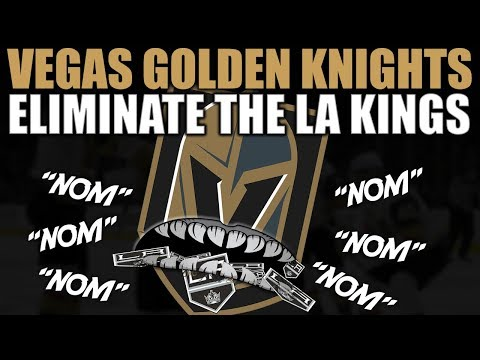 Vegas Golden Knights Eliminate the Los Angeles Kings