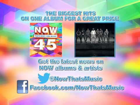 NOW 45 feat. P!NK, Flo Rida, Maroon 5, Taylor Swift & more!