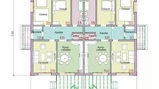 Проект дома на двух хозяев для СК СтройГарантАнапа