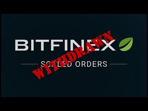 Withdraw Your Funds From Bitfinex NOW! (US Customers)