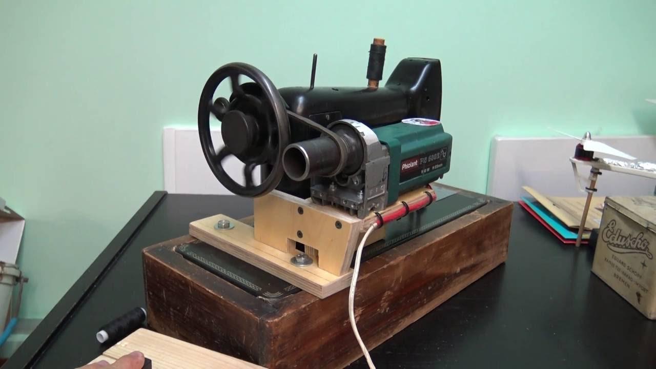 Двигатель к швейной машине своими руками фото 59