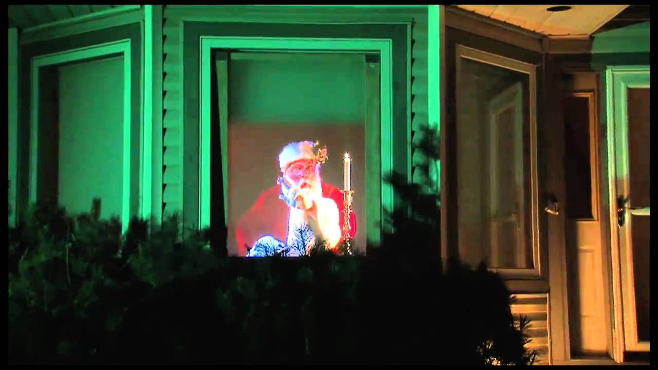 virtual santa claus window projection dvd youtube