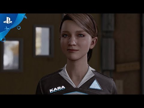 Detroit: Become Human  PGW 2017 Gameplay   PS4