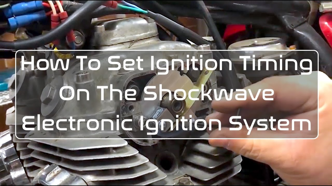 Setting Ignition Timing on the Shockwave Electronic Ignition System  (Detailed)