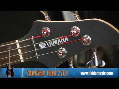 Yamaha RBX270J Bass Guitar Review by Rikki's Music Shop, Edinburgh