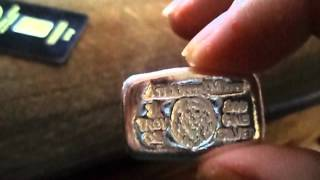 2016 unboxing silver, 2016 silver stack, 2016 gold gram, investing in silver, precious metals,