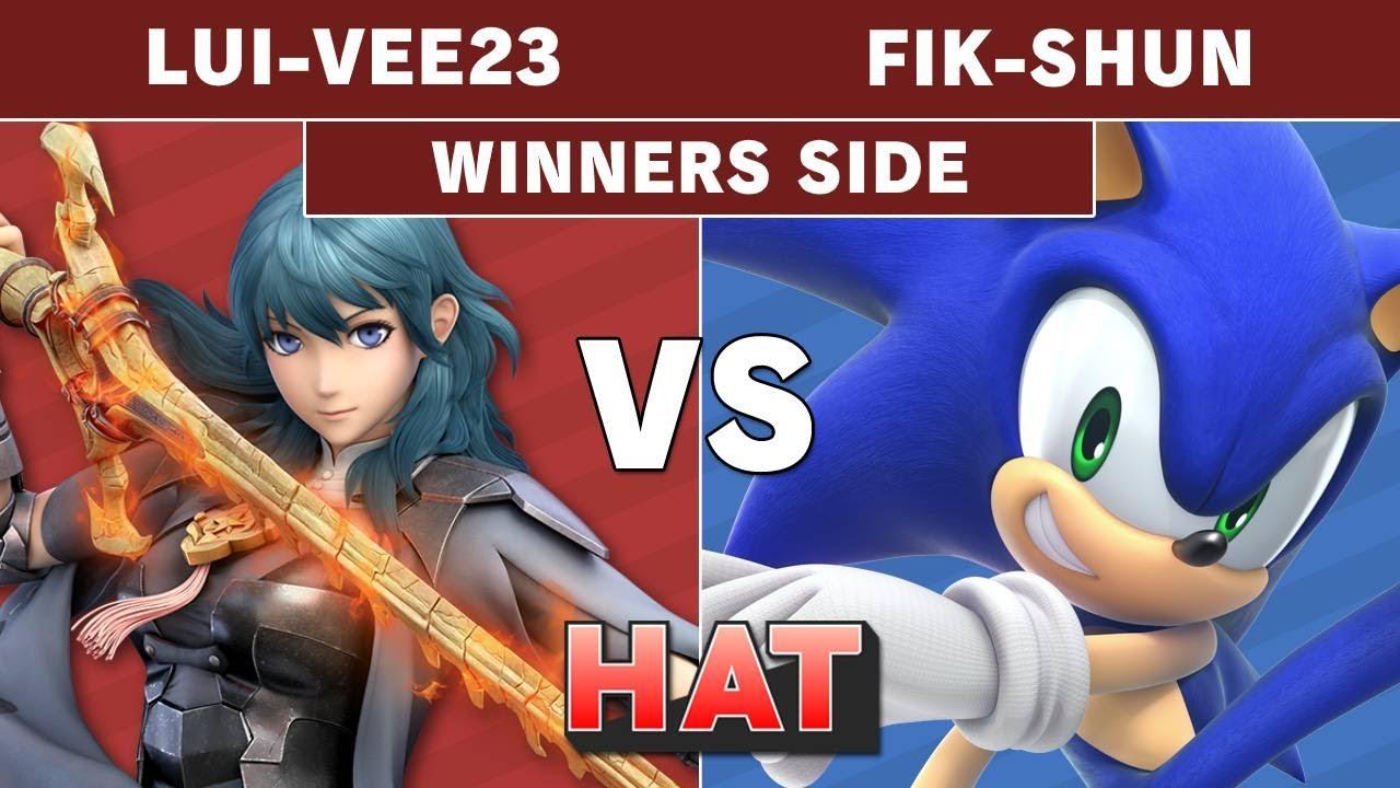 HAT 98 - Lui-Vee23 (Byleth) Vs. FIK_SHUN (Sonic) Winners Side - Smash Ultimate