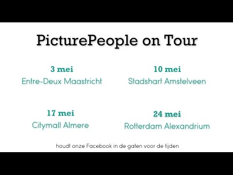 PicturePeople on Tour in mei!
