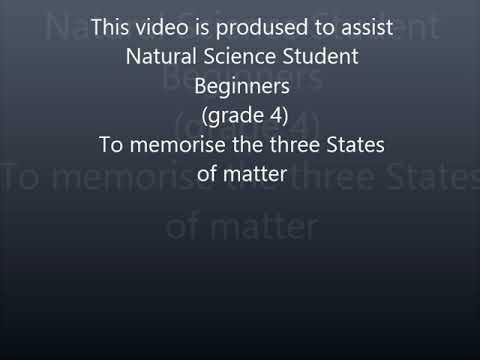 BPT Assignment 6 Song- three states of matter