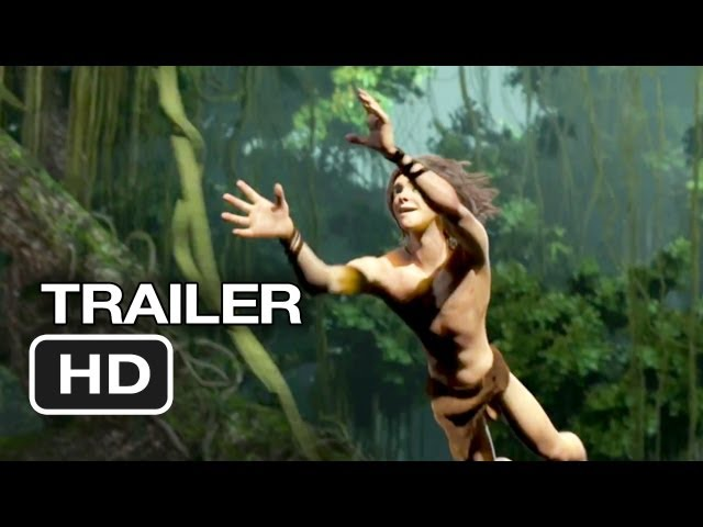 Tarzan Official Trailer #1 (2013) - Motion Capture Movie HD Travel Video