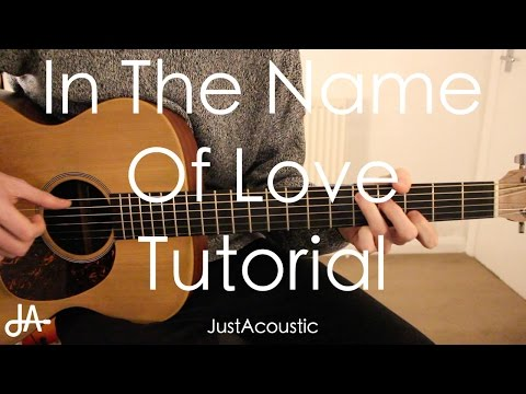 How To Play In The Name Of Love   Martin Garrix ft Bebe Rexha Guitar Tutorial Lesson