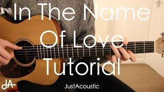 How To Play: In The Name Of Love - Martin Garrix ft. Bebe Rexha (Guitar Tutorial Lesson)