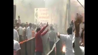 Rae Bareli : FIRE Broke Out In Amit Shahs Rally   ABP News
