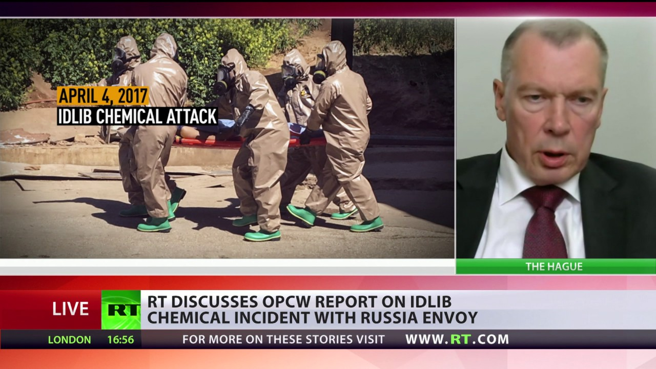 'Conclusions are based on questionable data' - Russian envoy on latest OPCW report