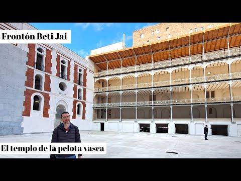 FRONTON BETI JAI 🤾 Madrid Cómo visitarlo