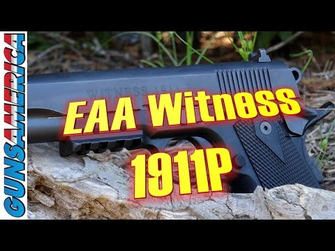 A Plastic 1911? The EAA Witness 1911P .45 ACP—Full Review.