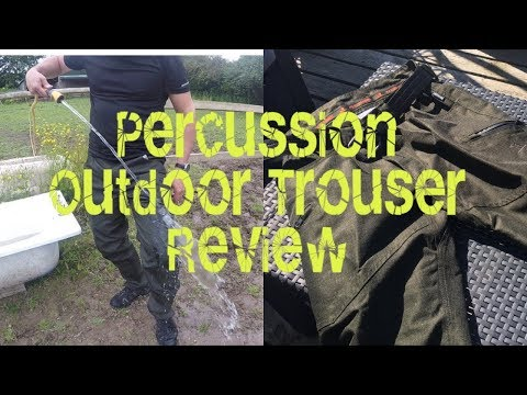 Percussion Outdoor Trouser Review
