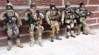 COLLECTION 1/6 SCALE MILITARY FIGURE( NEW 2013).