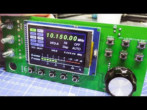 "Синтезатор Arduino Mega 2560 + 3.2"" TFT LCD + Si5351"
