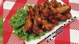 Gambar cover Cánh gà chiên nước mắm ngon, cánh gà chiên. Bếp Yên Bình.
