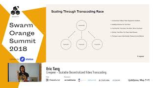 Eric Tang Livepeer Scalable Decentralized Video Transcoding day 3