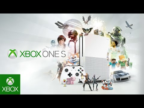 Xbox One S –  Introducing the best value in games and entertainment