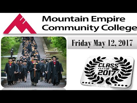 2017 Mountain Empire Community College Graduation