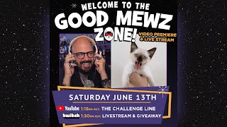 GOOD MEWS ONLY  Live from the Cat Cave with Jackson Galaxy 6/13