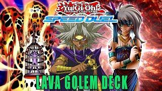 Deutsch Lava-Golem Burner // Speed // Yami Marik Deck ALLE TOP Yu-Gi-Oh