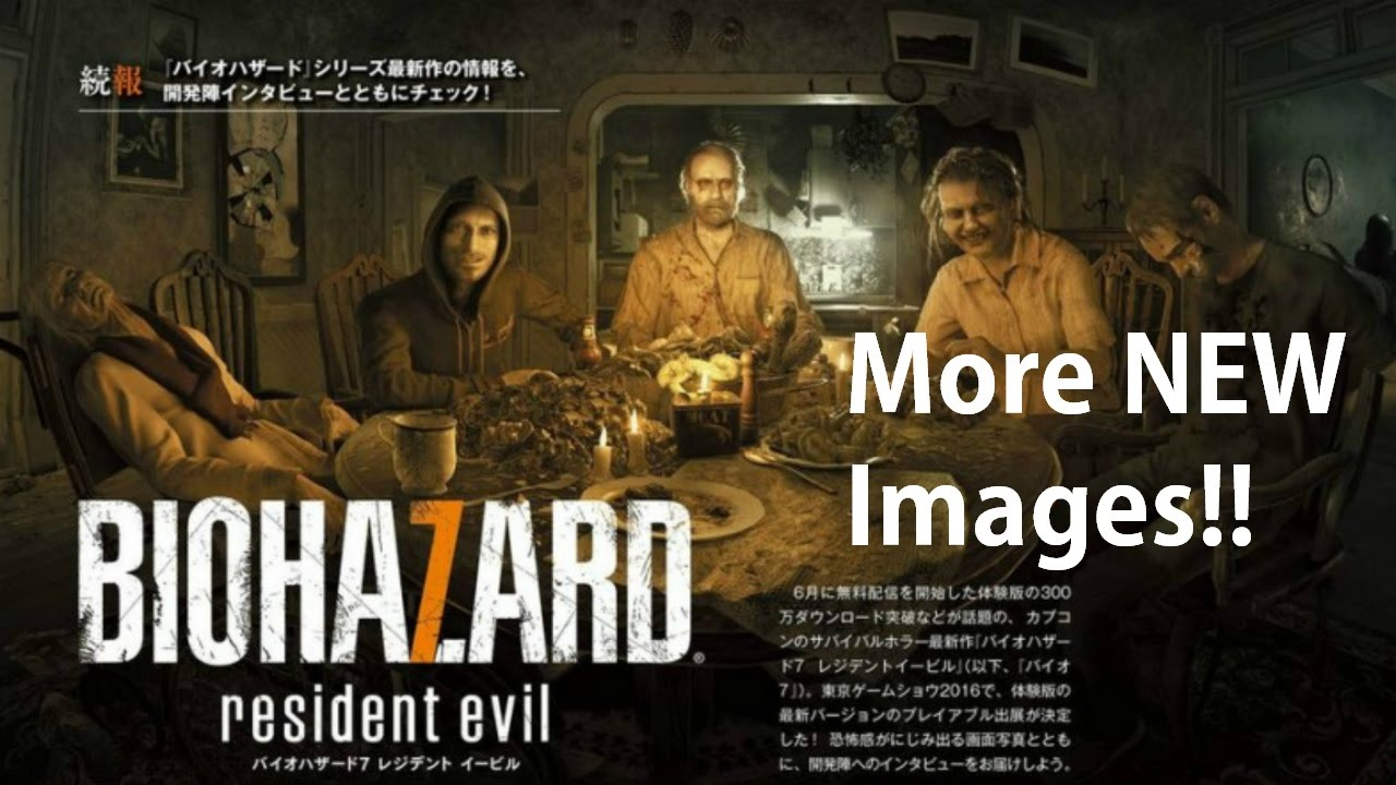 Resident Evil 7 More New Tgs 2016 Images The Whole Baker Family