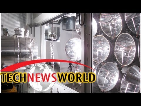 Scientists test world's first solar fuels reactor for night