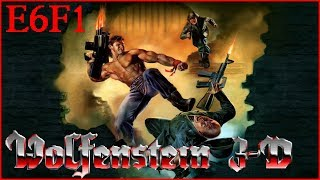 Wolfenstein 3D: Nocturnal Missions (1992) E6F1 All Secrets - I Am Death Incarnate 100% Walkthrough