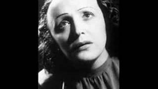 Edith Piaf - Avant l