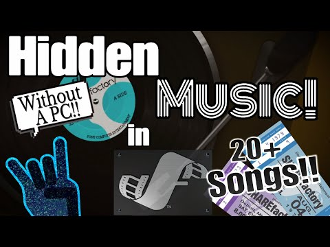 How to access Hidden Music in ShareFactory!!