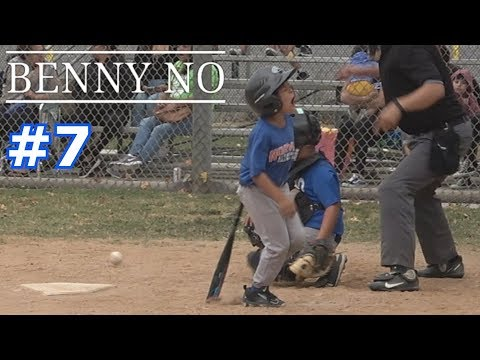 LUMPY'S TEAMMATE GETS HIT BY A PITCH | Benny No | LITTLE LEAGUE FALL BALL GAMES #7