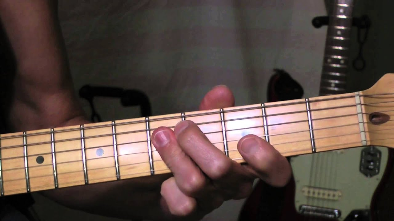 Caravan Guitar Lesson Youtube