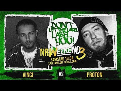 Proton vs Vinci // DLTLLY RapBattle (NRWeekend3 // Düsseldorf) // 2019
