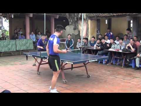 Giải Bóng bàn Lễ hội Yên mẫn xuân 2016 V5 Hoàng CA vs Hòa Pull HD