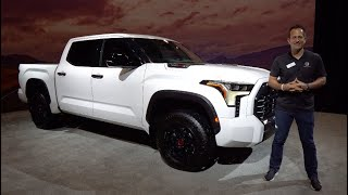 Is the NEW 2022 Toyota Tundra TRD Pro a BETTER truck than a Ford Raptor?