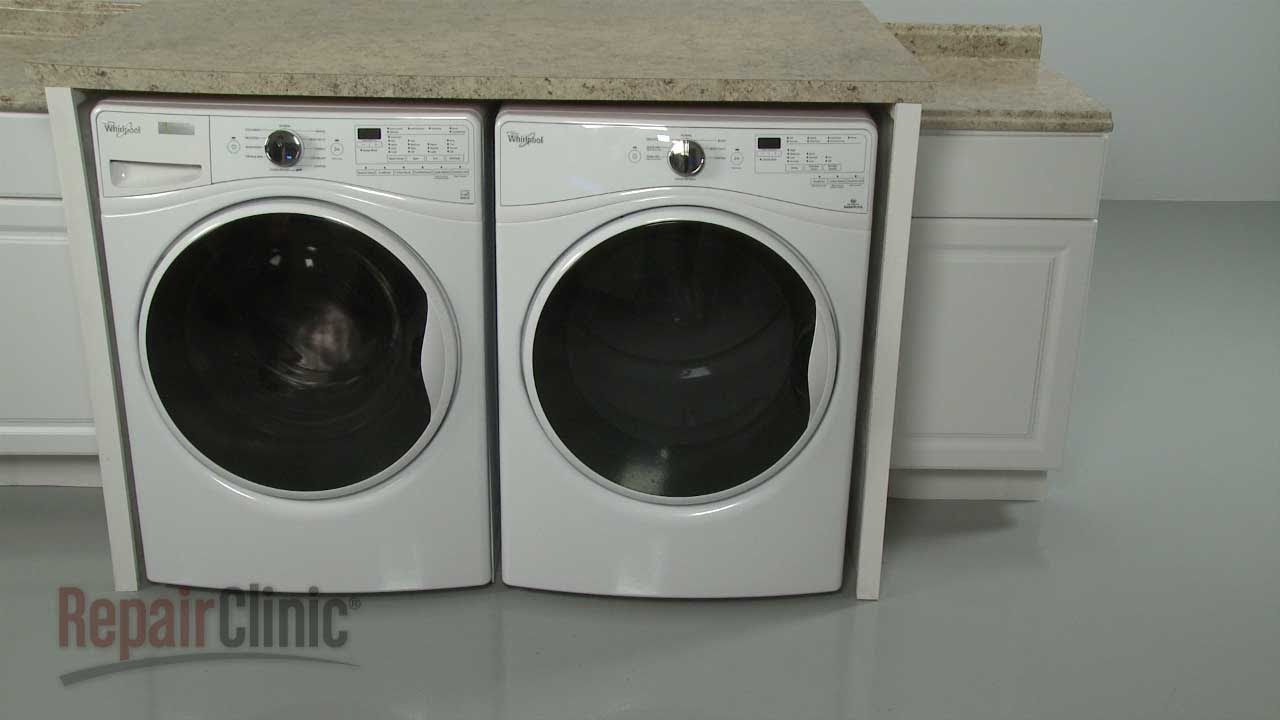 whirlpool duet washer dryer stacking instructions