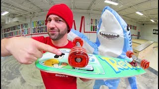 SHARK SKATE WHEELS! / Scientifically Made?