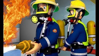 Strażak Sam ⭐️ Ostrzeżenie przed ogniem  Strażacy ratują dzień Kreskówki dla dzieci