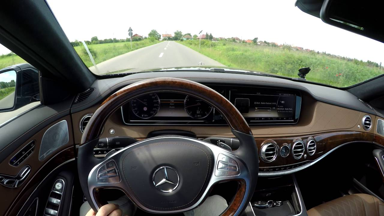 Mercedes benz s500 4matic w222 39 14 test drive pov for Mercedes benz s500 4matic